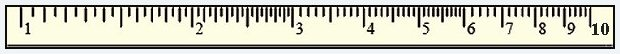slide rule scale